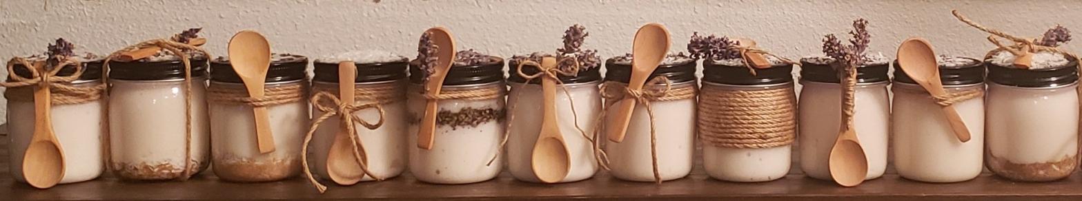 homemade coconut sugar body scrub organic natural vegan dyi coconut oil coconut lavendar vitamin e craft Christmas gift